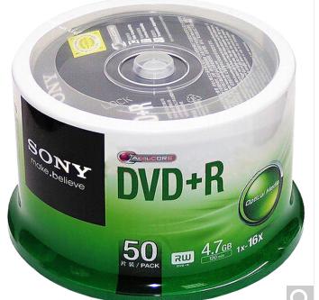 索尼(SONY)DVD+R 光盘/刻录盘 16速4.7G 桶装50片 空白光盘_http://www.zhongqingyang.cn/img/images/C201912/1576804559699.jpg